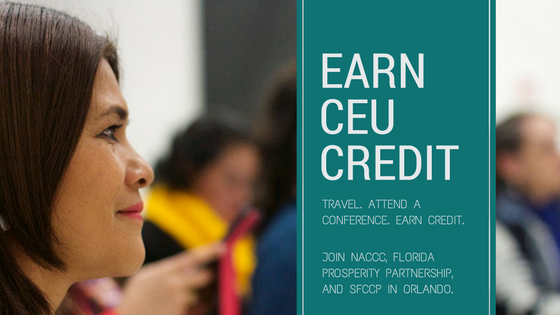 earn CEU credits at a conference