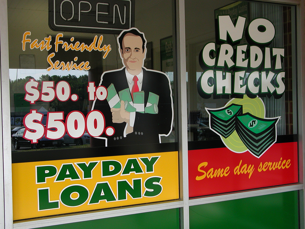 Payday Lending Storefront